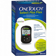 Глюкометр One Touch Select Plus Flex+ 50 т/п в подарок